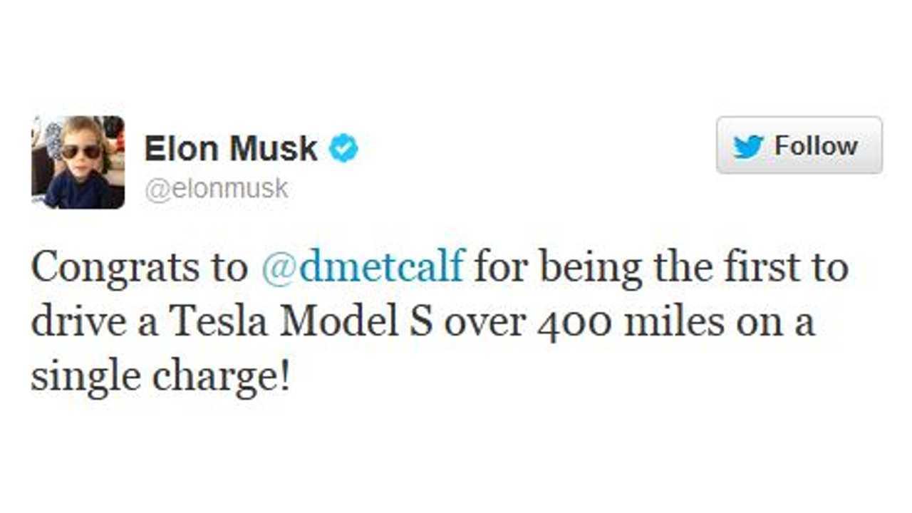 Tweet away Elon Musk! This one is definitely brag-worthy.
