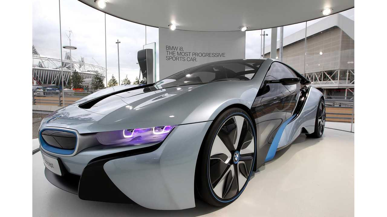 BMW i8 To Be Sold Online