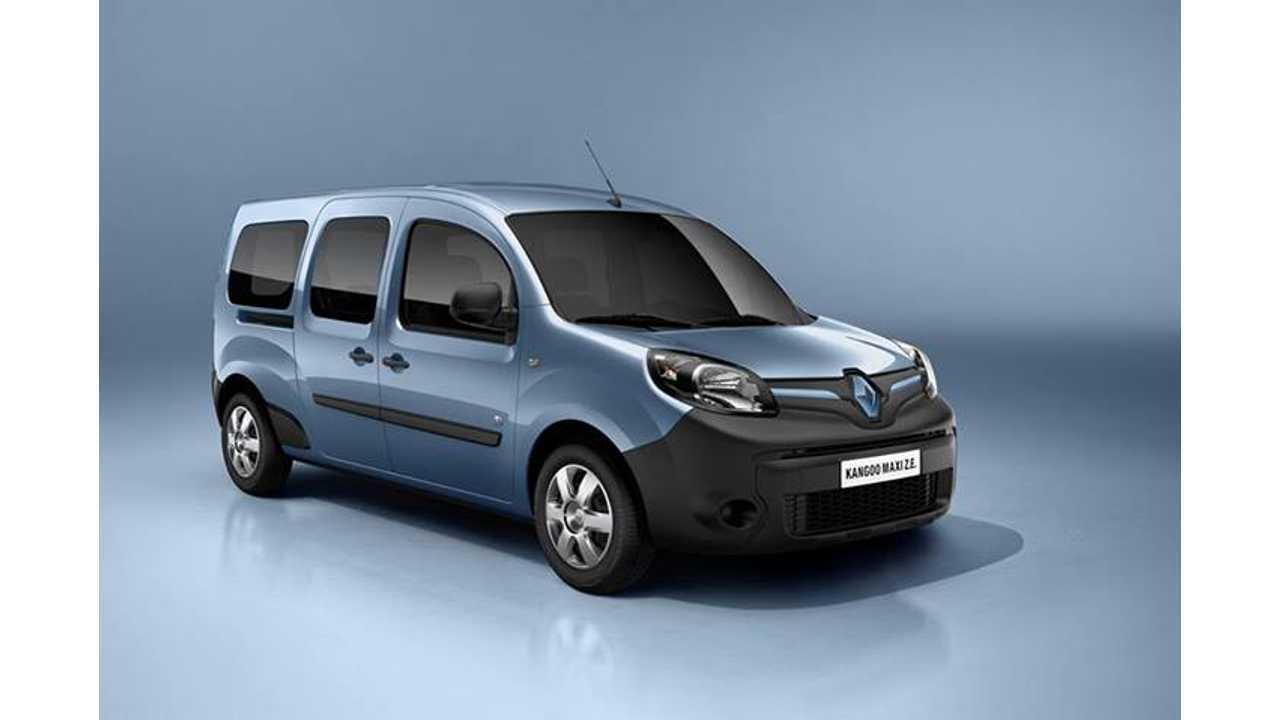 Over Half of Renault's Entire EV Sales Were in France in 2013