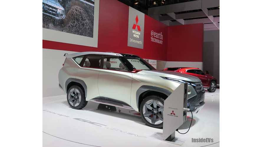 Mitsubishi GC-PHEV and XR-PHEV in Geneva - Both Concepts Preview Production-Bound PHEVs