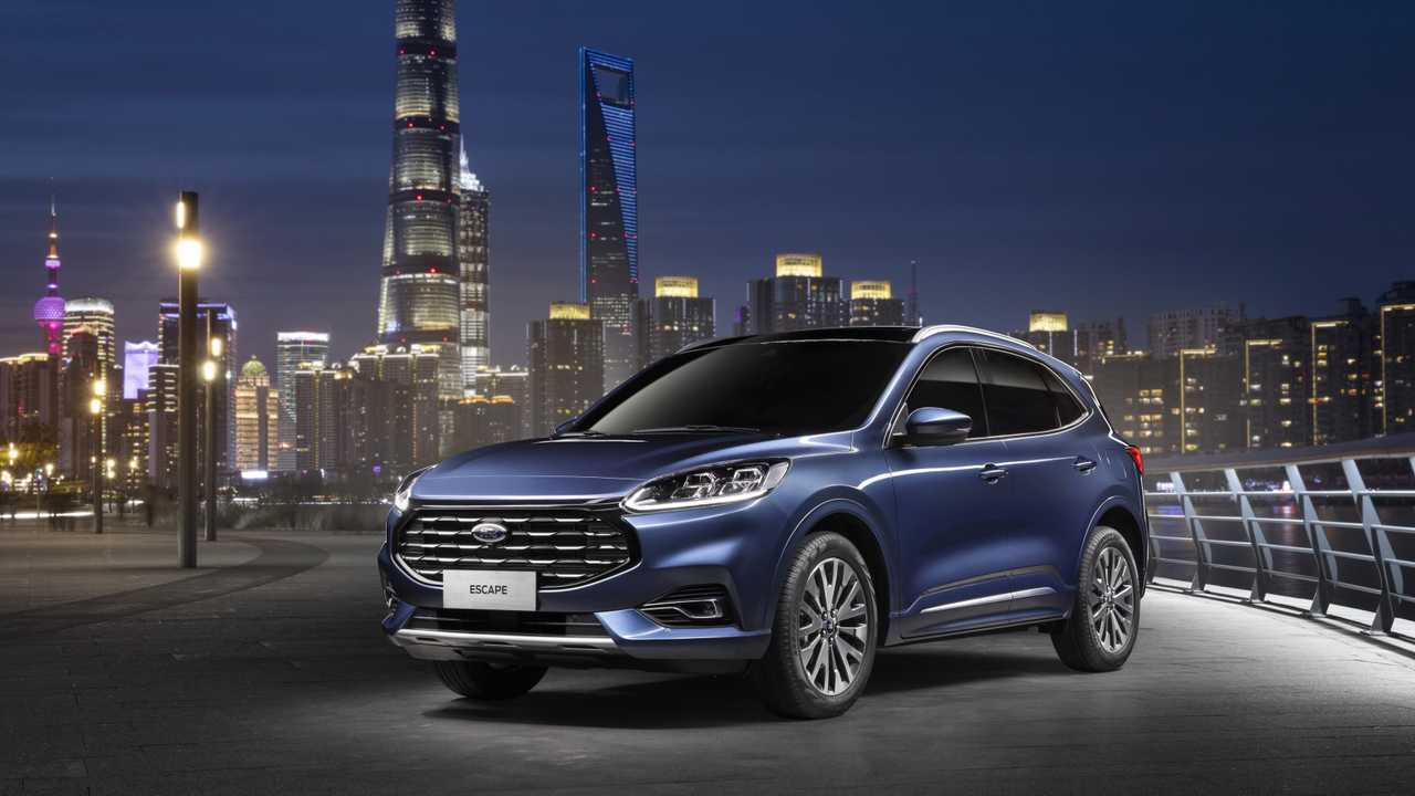 2020 ford escape gets a bigger grille in china
