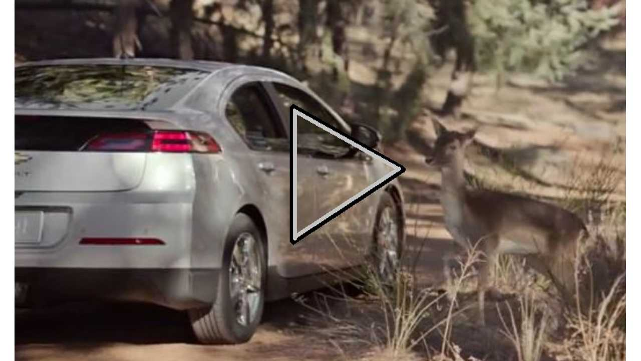 Video: Latest Chevy Volt Ad