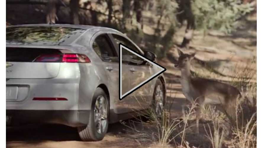 "Video: Latest Chevy Volt Ad ""Silent Anthem"" Builds Upon Original ""Find News Roads"" Commercial"