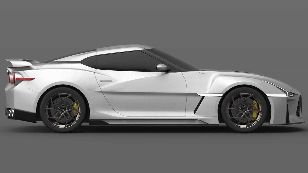 2021 Nissan GT-R Design Render