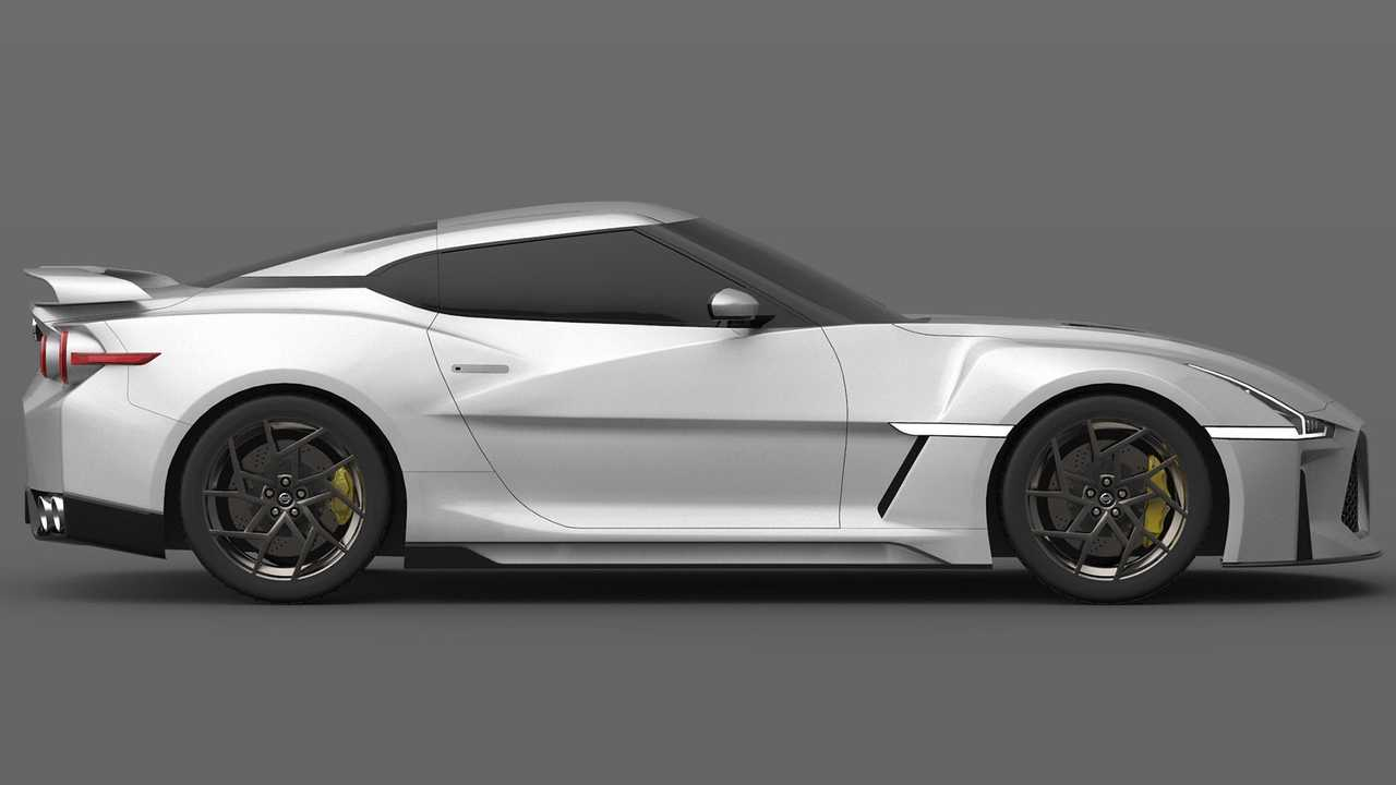 2021 Nissan GT-R Design Render 6 of 33 | Motor1.com Photos