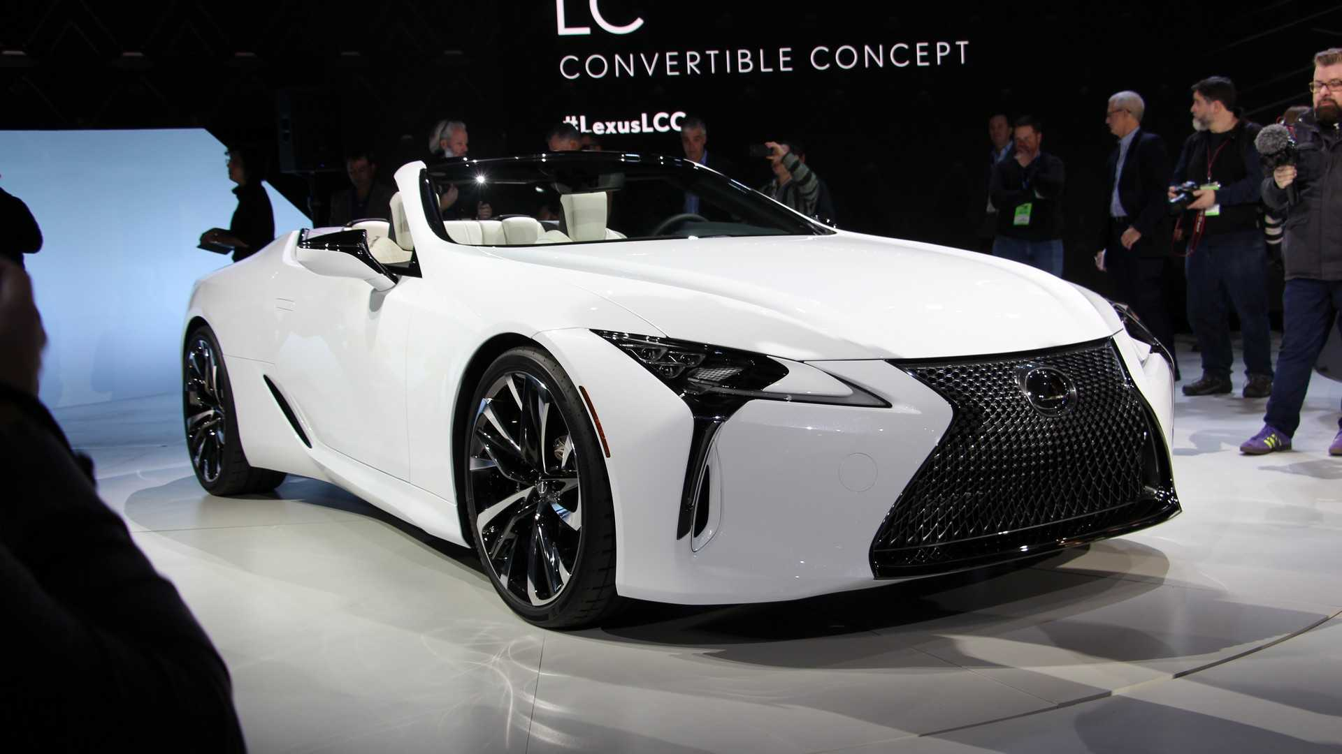 Lexus Lc Convertible Debuts As Stylish Topless Tourer Update