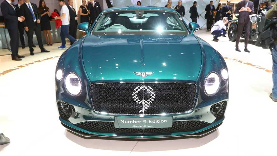 Bentley Continental GT Number 9 Edition - Cent ans fêtés dignement