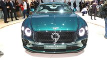 Bentley Continental GT Number 9 Edition By Mulliner at the 2019 Geneva Motor Show