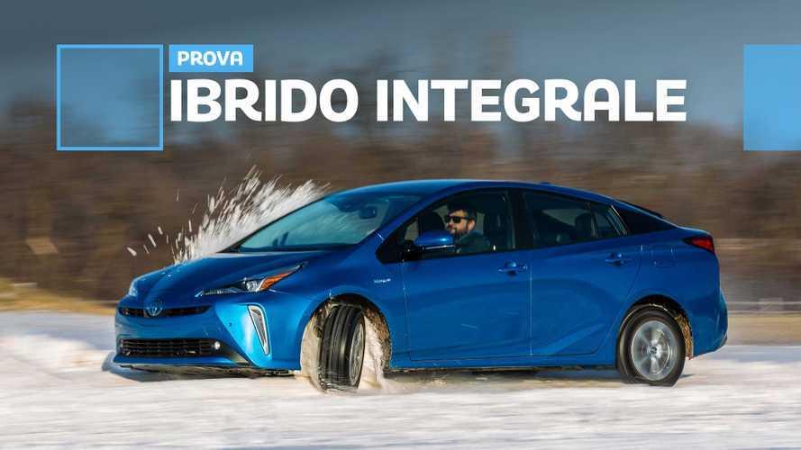 Toyota Prius AWD-e, l'ibrido può essere divertente?