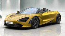 McLaren 720S Spider configurator