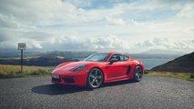 Porsche 718 Cayman T Side 2019