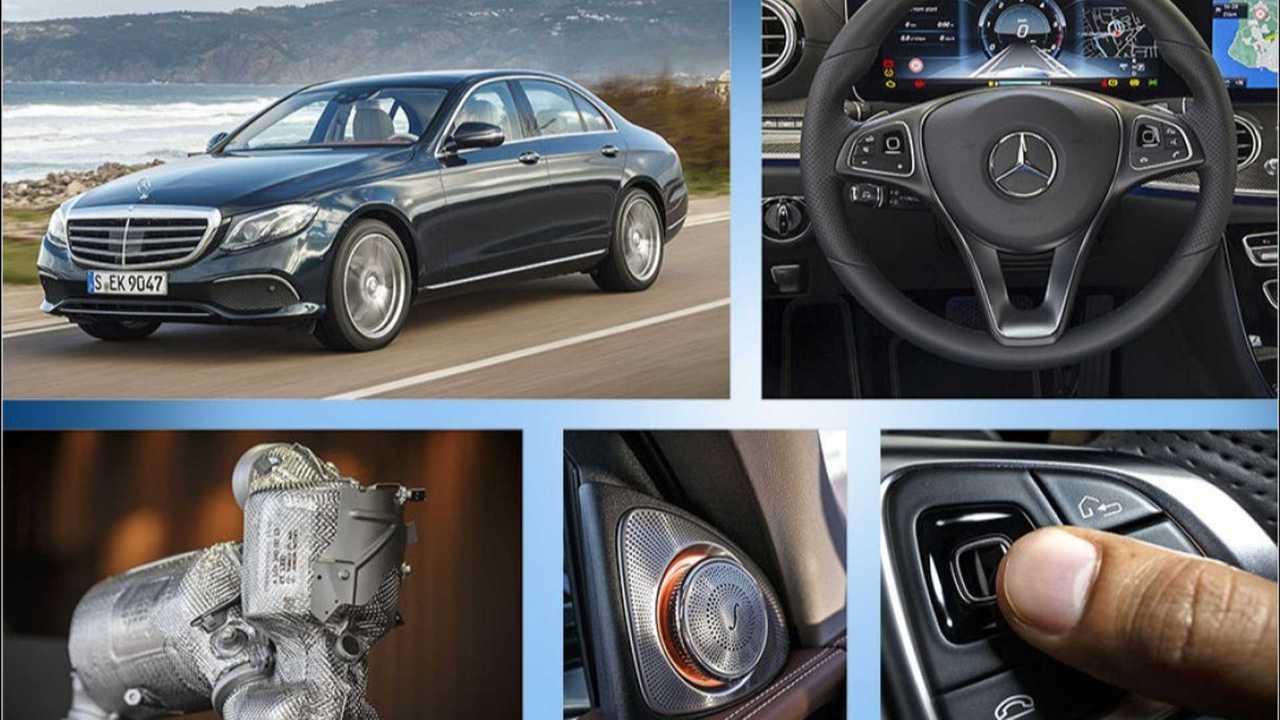 Mercedes E-Klasse (2016): Die besten Technik-Features (Kollage)