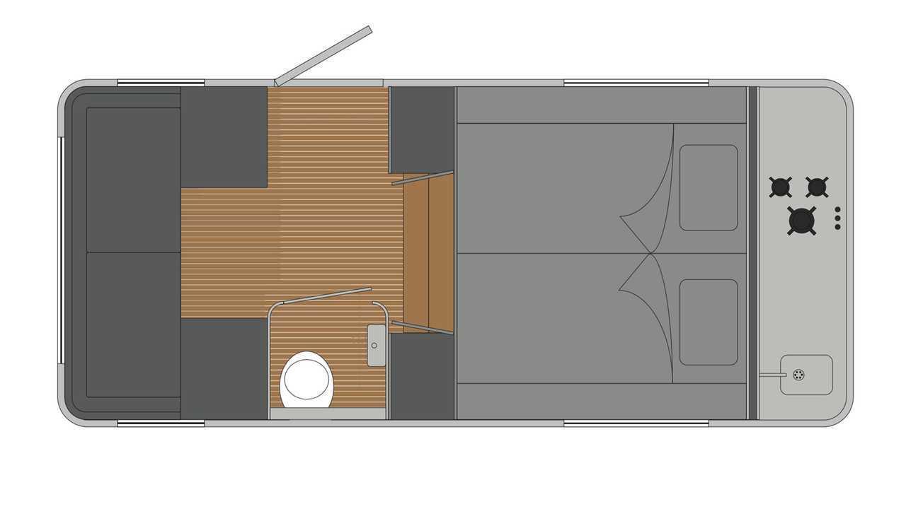 Wohnwagen Mit Außenküche : Motor teardrop caravan als stylischer retro wohnwagen business