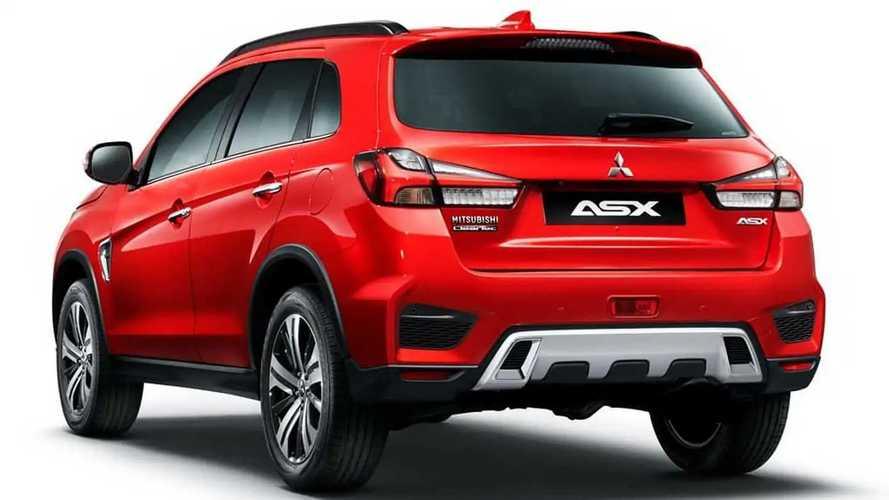 2020 Mitsubishi ASX restylé