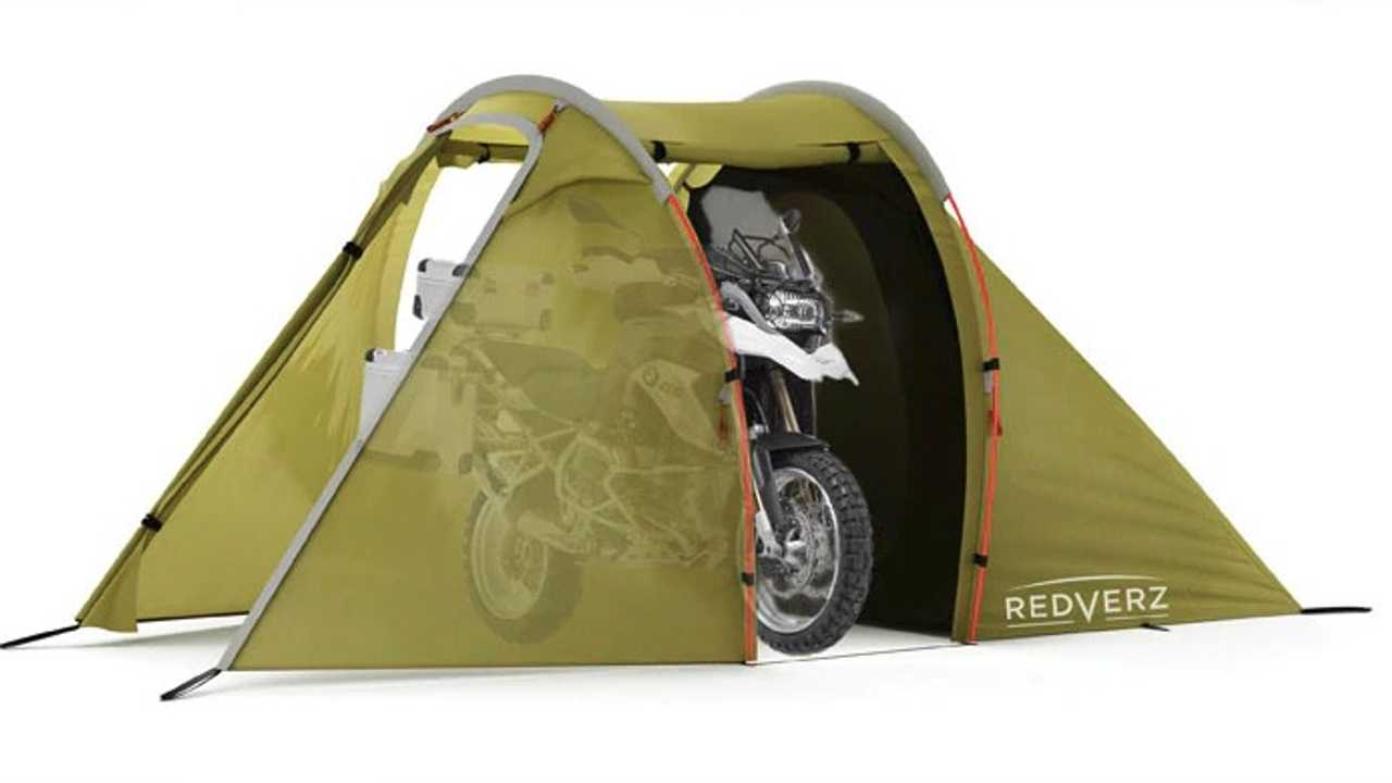 Two Motorcycle Tents For Your Camping Consideration
