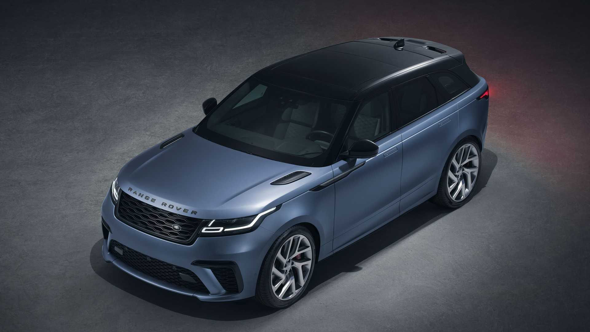 2019 Range Rover Velar SVR: News, Specs, Price >> Range Rover Velar Svautobiography Dynamic Edition Revealed