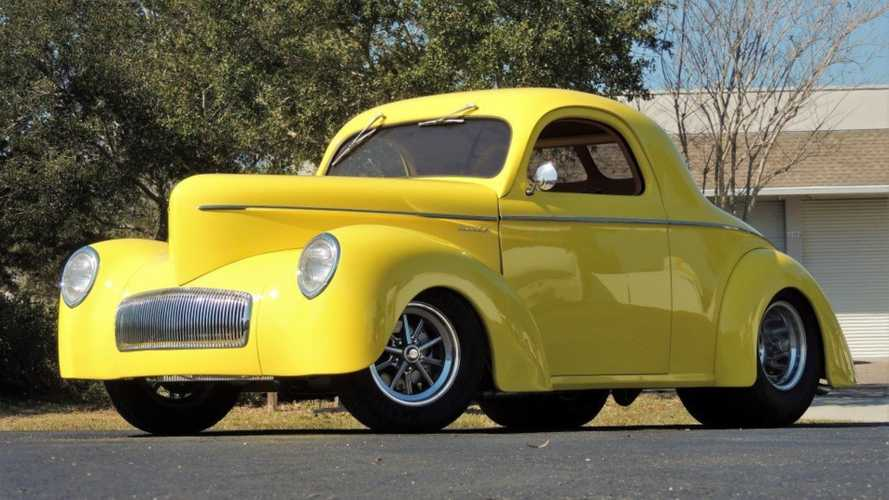 This 1941 Willys Hot Rod Is Not So Mellow In Yellow
