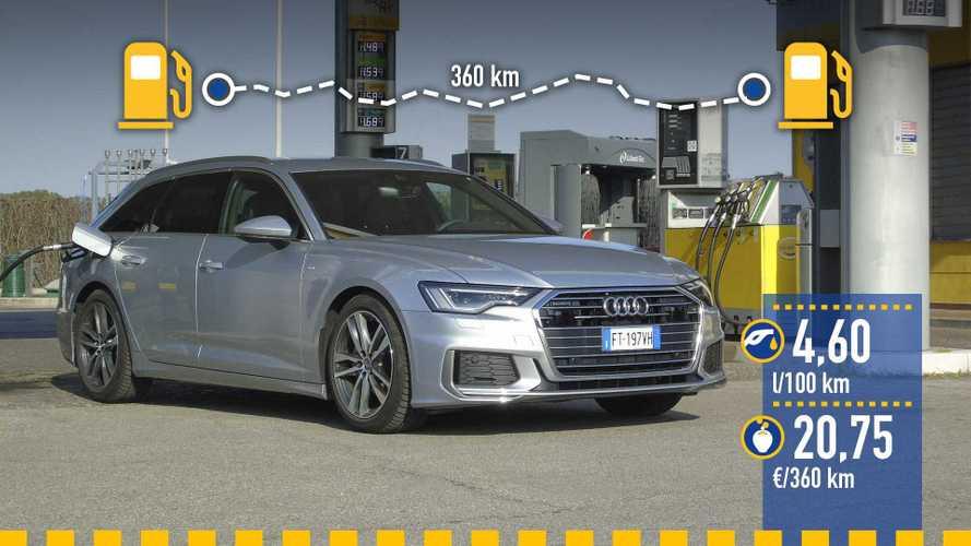 Audi A6 Avant 40 TDI 2019: prueba de consumo real
