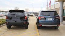 2019 Honda Passport Vs. 2019 Honda Pilot