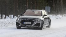 2020 Audi RS4 Avant facelift spy photos