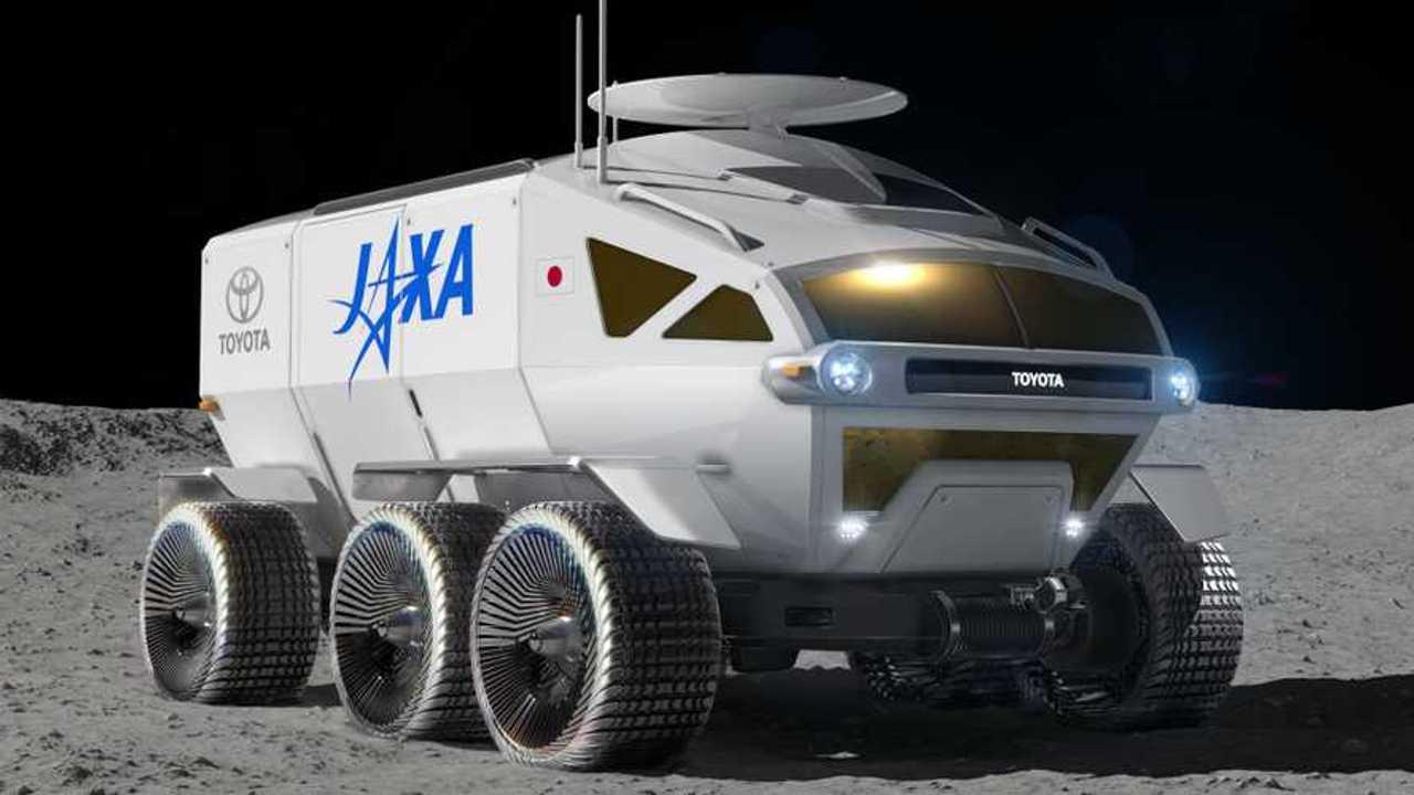 Render vehículo lunar de Toyota