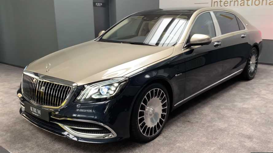 Two-Tone Mercedes-Maybach S560 Has Over $79K Worth Of Options