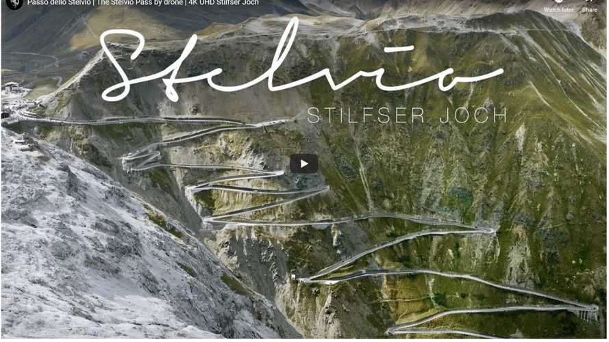 Watch These Breathtaking Views Of The Stelvio Pass