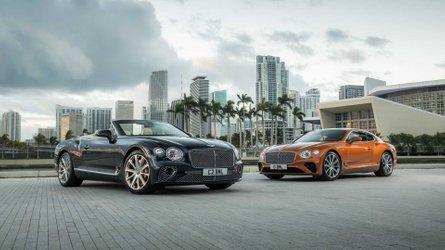 Kupé és kabrió változatban is bemutatkozott a Bentley Continental GT V8