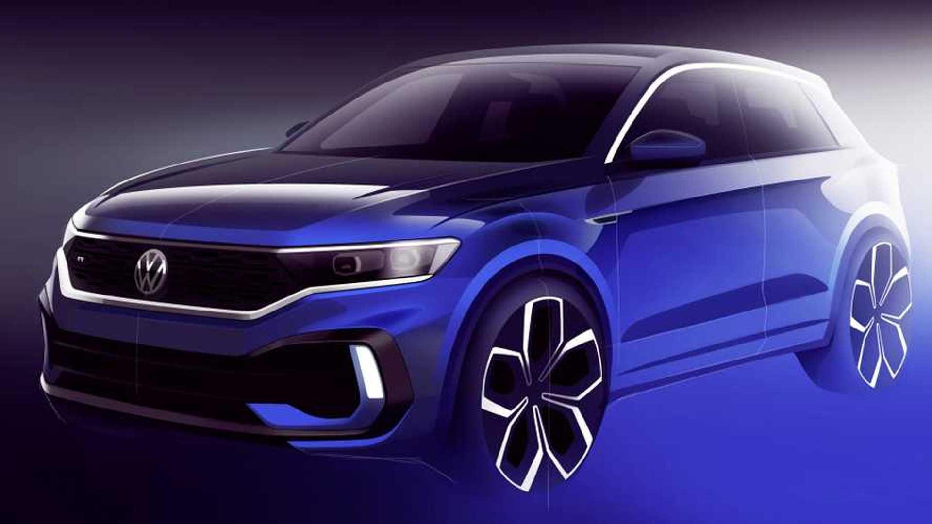 Volkswagen Donne Une Illustration Du T Roc R