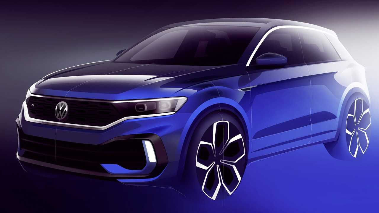 2020 VW T-Roc R teaser