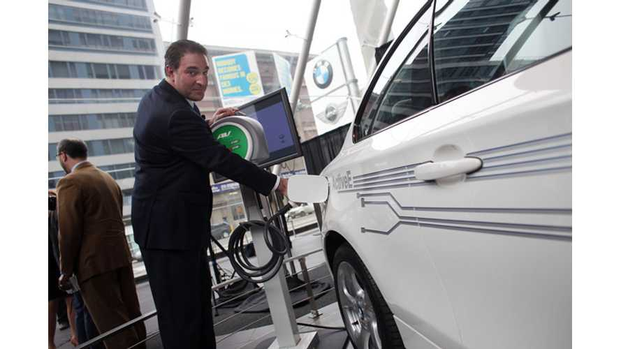 Exclusive: BMW Exec Denies Unplugging Electric Car Plans
