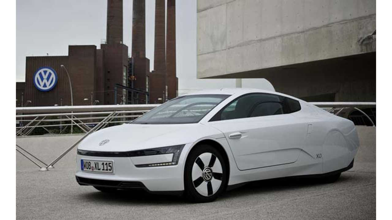Volkswagen XL1 Sold Out as Orders Exceed Total Production