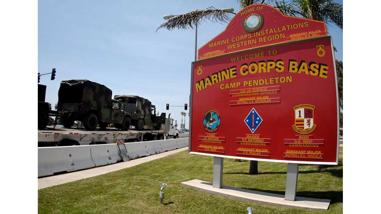 Camp Pendleton Issues Base Order for Charging of Electric Vehicles