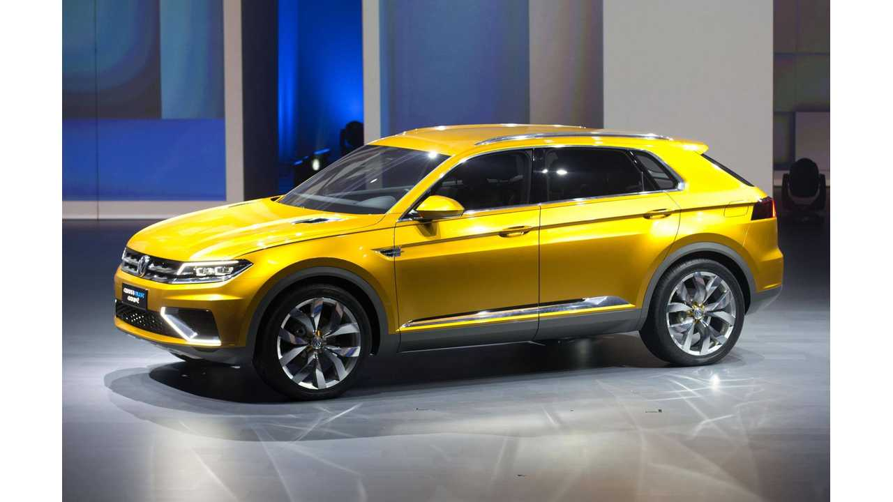 Volkswagen CrossBlue Concept Hits the Stage