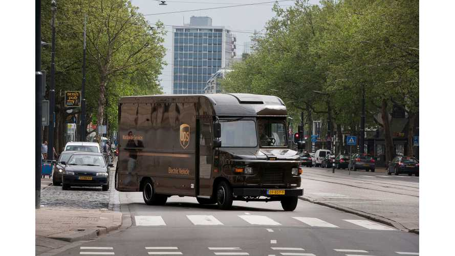 UPS Deploys Electric Vehicles On The Streets of Rotterdam