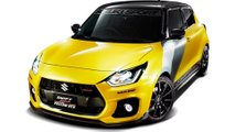 Suzuki Swift Sports Jaune Rev
