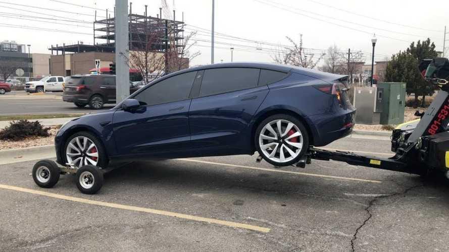 Tesla Model 3 Towed 3 Times For Same Simple Problem: Video