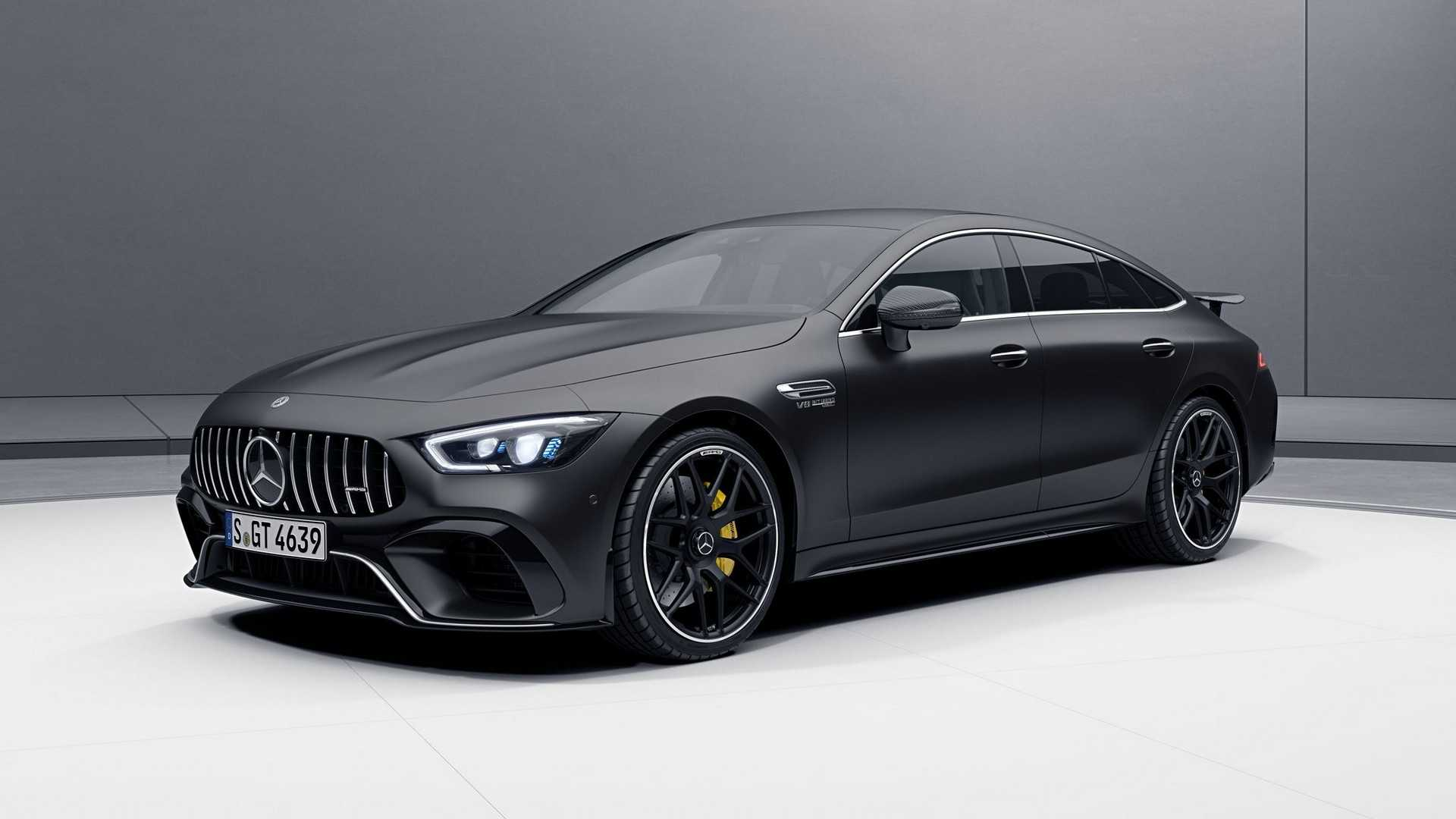 mercedes amg gt 4 door coupe looks extra sporty with aero pack. Black Bedroom Furniture Sets. Home Design Ideas
