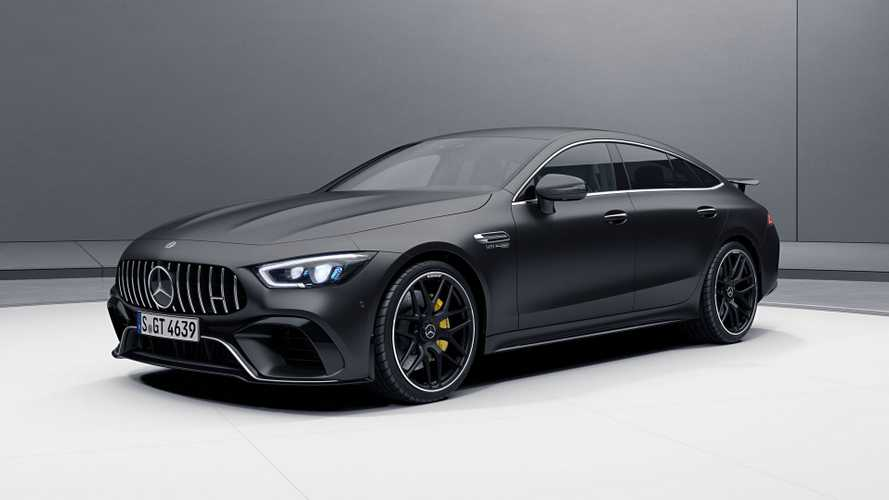 Mercedes-AMG GT 4-Door Coupe Looks Extra Sporty With Aero Pack