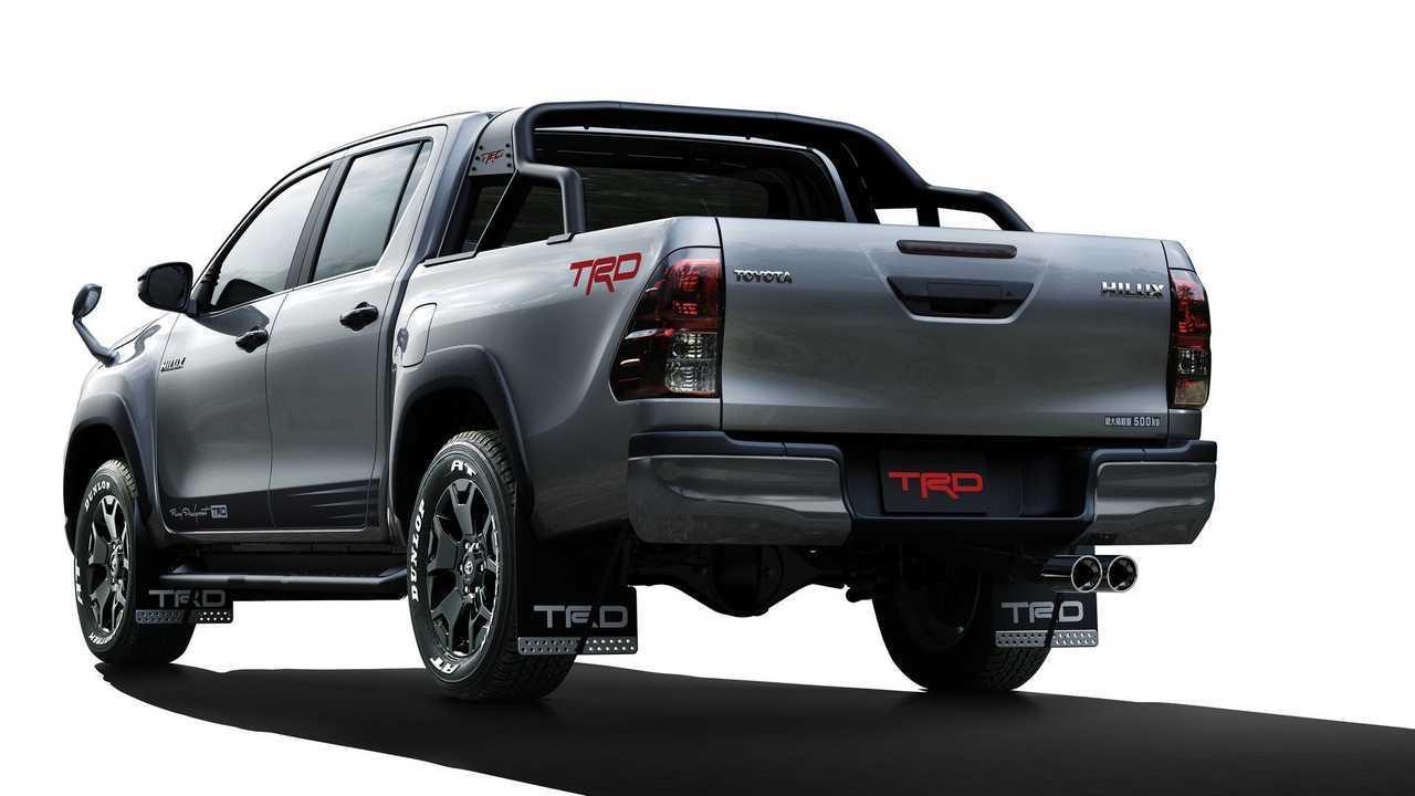 Toyota Hilux Ganha Serie Especial Black Rally Edition Com Acessorios Trd