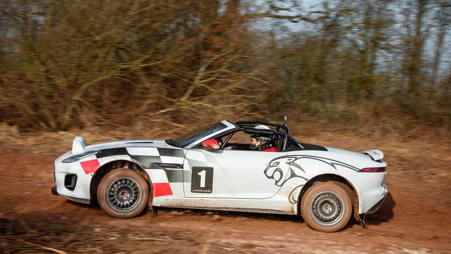Jaguar F-Type Rally Car: First Drive