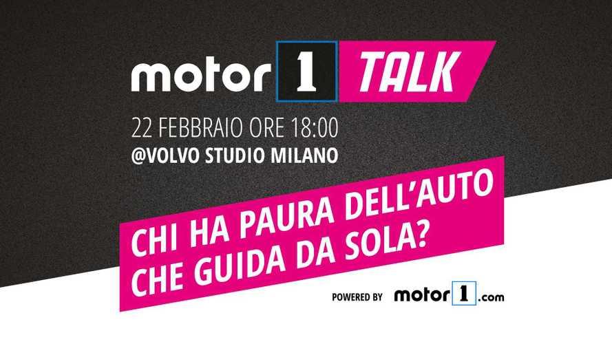 Motor1Talk, chi ha paura dell'auto che guida da sola?