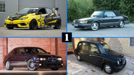 Coolest Cars For Sale This Week: From LHD London Taxi To Saab Turbo Cabrio