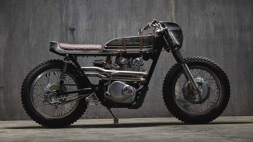 The Borg Honda CB450 Custom Will Assimilate You