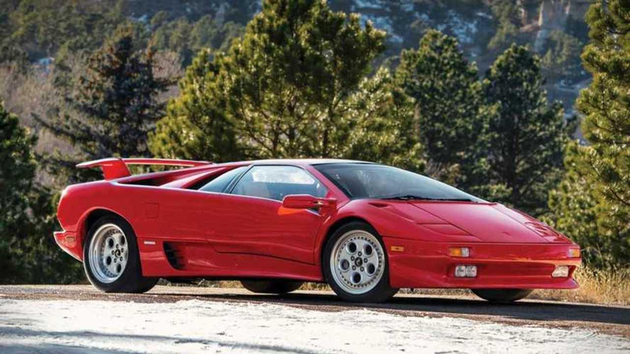 Mario Andretti\'s Lamborghini Diablo