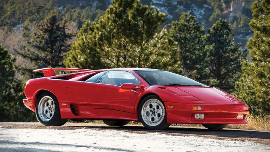 You Could Own Mario Andretti's Lamborghini Diablo