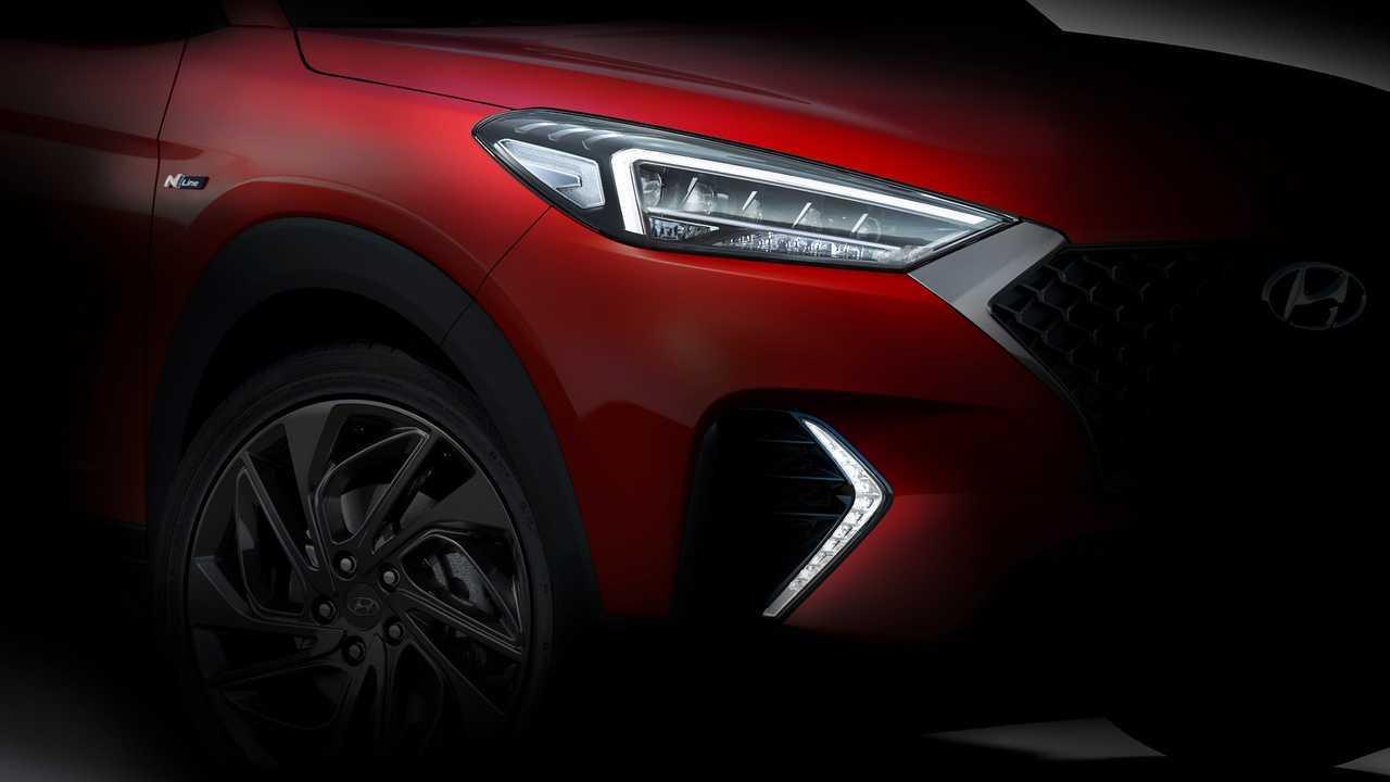 Hyundai Tucson N Line teaser görüntüsü
