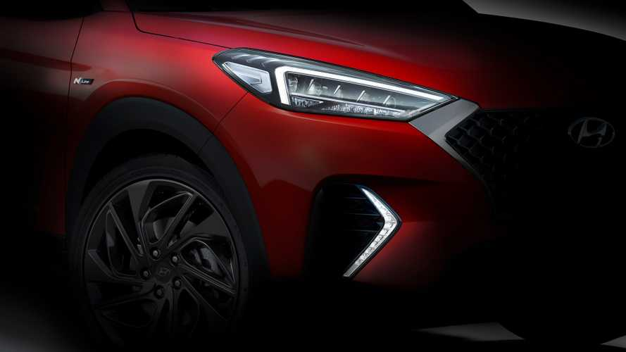 Hyundai Tucson N Line teased with sportier appearance
