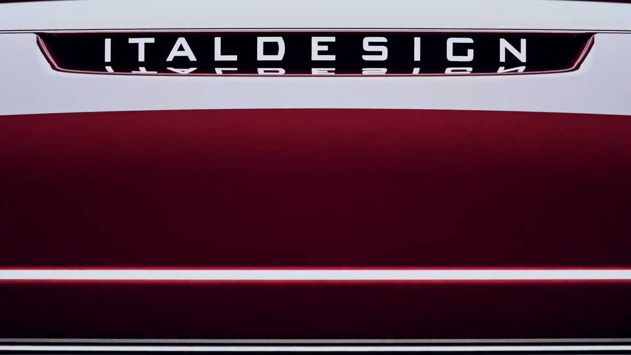 Italdesign new car teaser