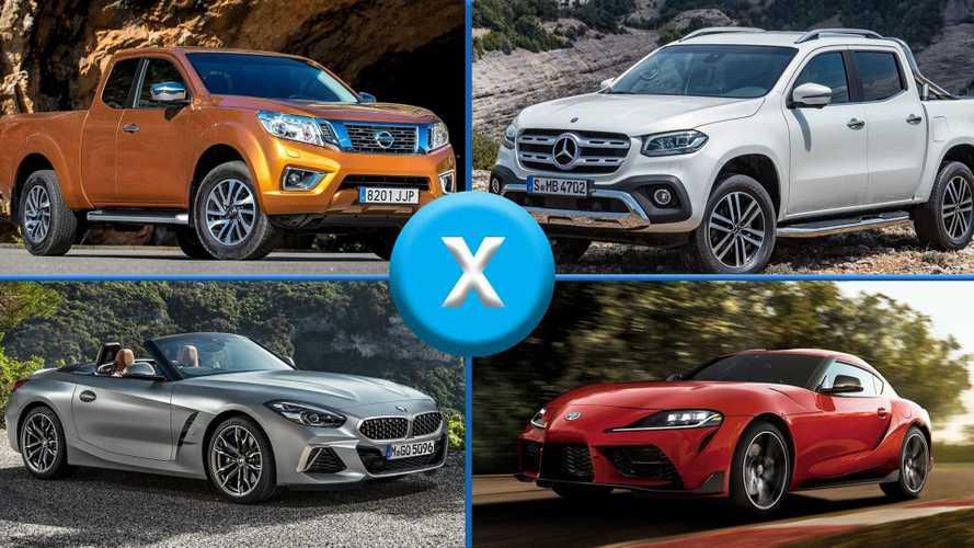 Toyota Supra/BMW Z4, Nissan Frontier/Mercedes Classe X e outras parcerias inusitadas do setor automotivo